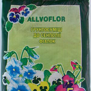 Аллвофлор грунтосмесь с кокосовым волокном для сенполии  5л