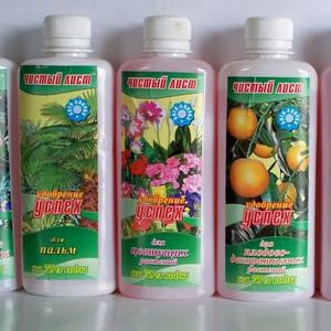 Чистый лист Удобрение Успех Для цветущих растений